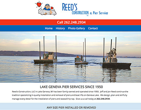 Reed's Construction and Pier Service